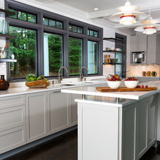 Transitional Kitchen by Splash Kitchens & Baths LLC