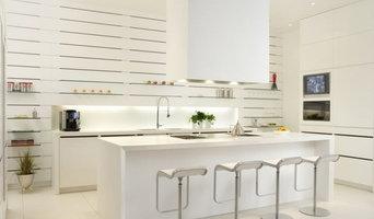 Crisp, White, Modern Toronto Kitchen