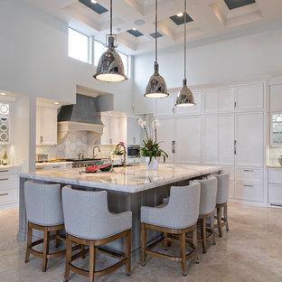 Cristallo Quartzite Kitchen