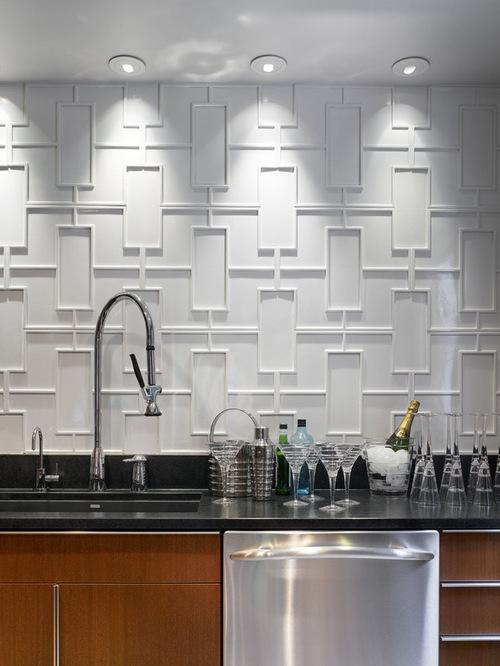 ceramic backsplash - Kitchen Backsplash Modern