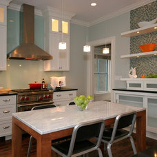 Eclectic Kitchen by Fiddlehead Design Group, LLC