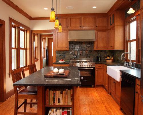 Craftsman Kitchen Design Ideas Remodel Pictures Houzz