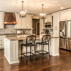 Cabinets New Brunswick  Kitchen Design Photos with White Cabinets, Raised-Panel Cabinets and
