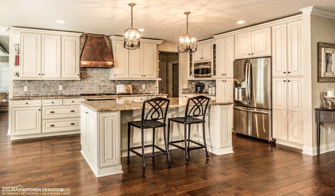 Traditional Kitchen by Zelmar Kitchen Designs & More, LLC