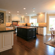 Traditional Kitchen by Pilgrims Custom Cabinets & Construction
