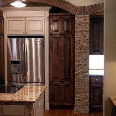 Traditional Kitchen by David Baca Studio, LLC
