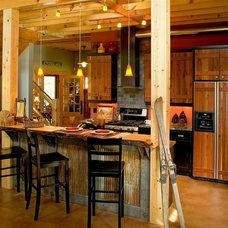 Traditional Kitchen Crosslake Cabin