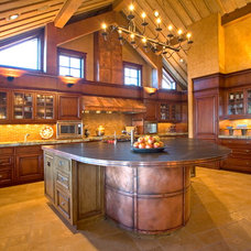 Traditional Kitchen by Scott Gilbride/Architect Inc.