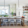 Houzz Tour: Lakeside Cottage Relaxes Into Country Style