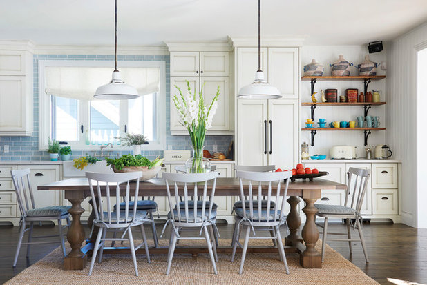 Beach Style Kitchen by Emily Griffin Design