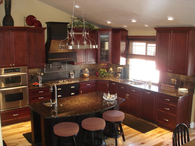 Kitchen by Crown Cabinets