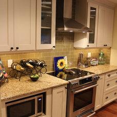 Transitional Kitchen by Kitchen Resource Direct