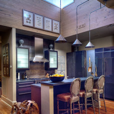 Eclectic Kitchen by Dennis Brady Architect