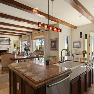 Crystal Cove Kitchen View