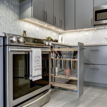 Crystal Gateway Kitchen condo