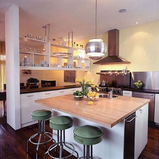 Contemporary Kitchen by Roger Hirsch Architect