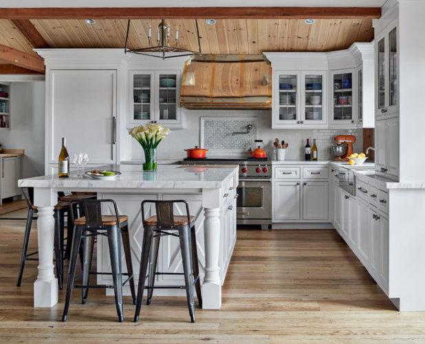 Beautiful Farmhouse Kitchen by PH Architects