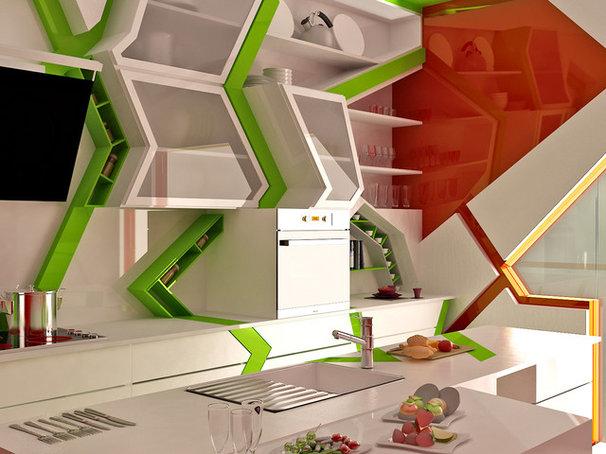 Contemporary Kitchen by Brani & Desi