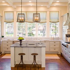Transitional Kitchen by James D. LaRue Architects