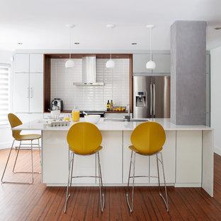 Cuisine moderne blanche / White modern kitchen