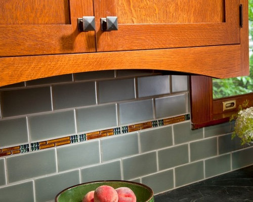 arts and crafts backsplash home design ideas pictures remodel and