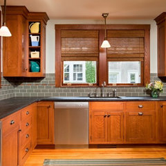 traditional kitchen by Teakwood Builders, Inc.