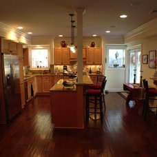 Traditional Kitchen by The Southern Basement Company