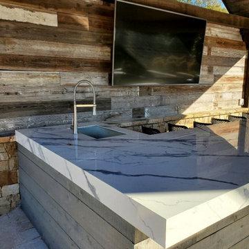 Cumming Outdoor Kitchen Remodel