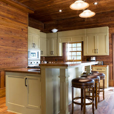 Rustic Kitchen by eric marcus studio