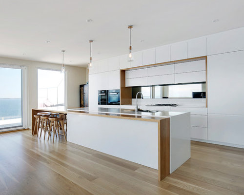 design ideas for galley kitchens. This Is An Example Of A Large Contemporary Galley Open Plan Kitchen In  Sydney With 100 Galley Kitchen Ideas Explore Designs Layouts