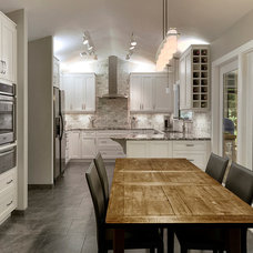 Contemporary Kitchen by Haile Kitchen & Bath LLC