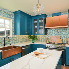 Colorful Sacramento Kitchen