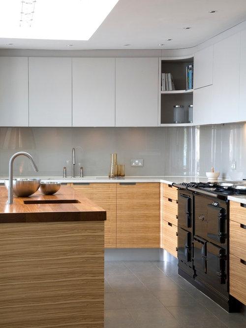 Riverside house devon for Sample kitchen designs