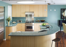 what are the color/brand/material of the countertops?