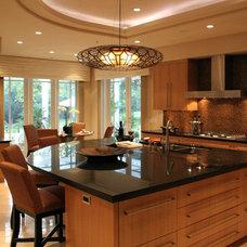 Contemporary Kitchen by Vicki Blakeman Interior Design