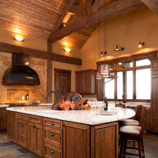 traditional kitchen by Aspen Design Studio