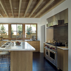 Transitional Kitchen by Arcanum Architecture