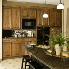 Traditional Kitchen by Cherry Creek Cabinetworks