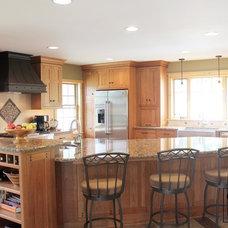 Craftsman Kitchen by Caves Kitchens