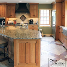 Craftsman Kitchen by Caves Kitchens