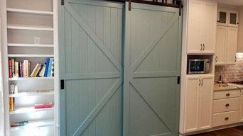Custom Barn Doors for Storage Space
