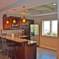Modern Kitchen by Anthony Company Builders LLC