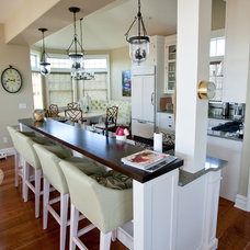 Traditional Kitchen by NJ Coastal Builder