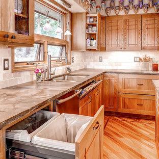 Custom Boulder Kitchen with Creative Amenities