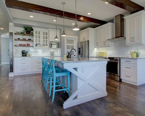 All Time Favorite Shabby Chic Style Edmonton Kitchen Ideas Photos Houzz
