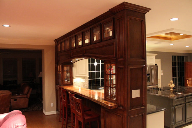 Traditional Kitchen by Houston Construction and Remodeling