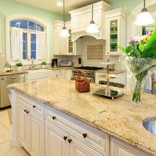 Mediterranean Kitchen by Paul Lopa Designs