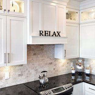 Custom built kitchen cabinetry & ornamentation