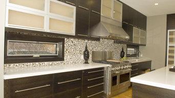 Custom Built Modern Kitchen & Island