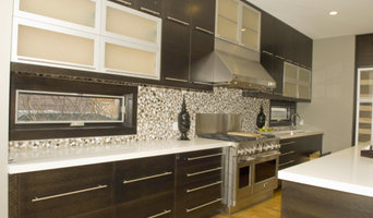 Custom Built Modern Kitchen & Island